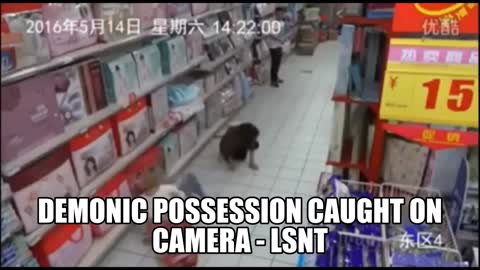 Demonic Possession Caught On Camera