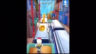 Don't interrupt my Subway Surfers Gameplay >:(