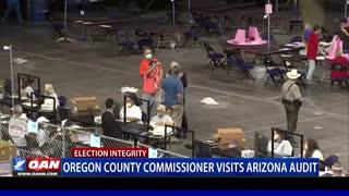 Ore. county commissioner visits Ariz. audit