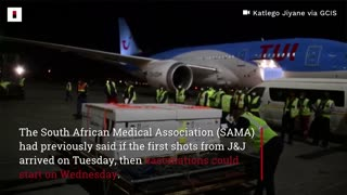 First batch of Johnson & Johnson Covid-19 vaccine arrives in South Africa