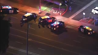 DUI Suspect Leads In Police Chase From Anaheim To Santa Ana