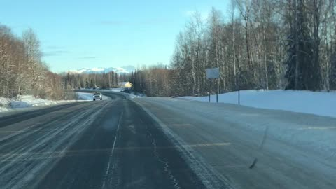 Driving back from Willow, Alaska. This is a long one.
