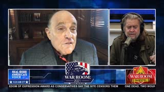 Giuliani: Voting Machines Were 'Built to be Manipulated' and Change Votes