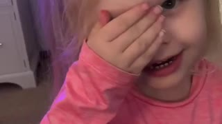 4 year old singing.