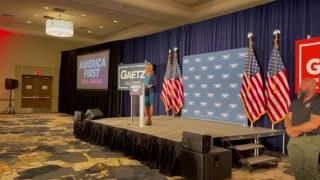 Dr Kelli Ward Addresses America First Rally