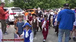 2021 Camp Constitution Junior Camper Parade