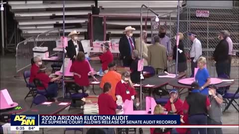 Arizona Supreme Court Allows Release Of Election Audit Records