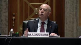 Homeland Security Secretary Mayorkas Asked Where Border Wall Money Went