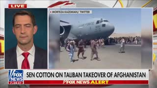 Biden's Botched Afghanistan Withdrawal 'Tragic and Catastrophic' Senator Cotton