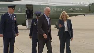 Biden's speech before journey