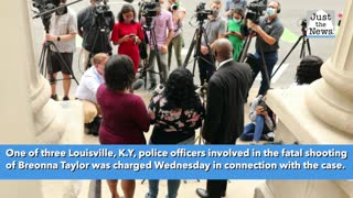 One officer charged in fatal police shooting of Breonna Taylor