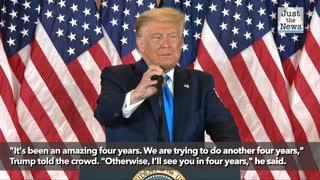 Trump teases 2024 presidential run