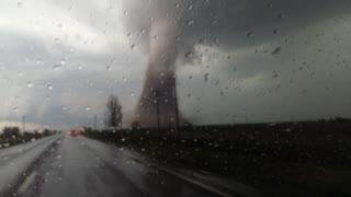 Man Gets Dangerously Close to Mammoth Tornado