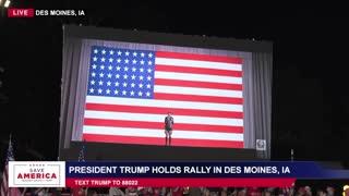 LIVE: President Donald J Trump in Des Moines, IA