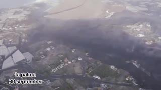 Impresionantes Imágenes del Volcán de La Palma