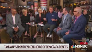 Joe Scarborough slams Democrat debate part 1