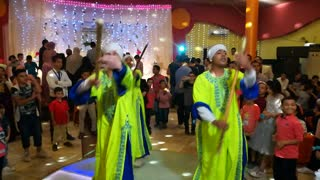 Wife Surprise Groom With Egyptian Dance Team
