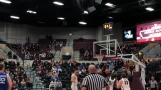 Stunning Basketball Player Shots Right On The Buzzer