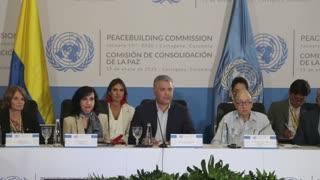 Presidente Duque hablo sobre la Paz