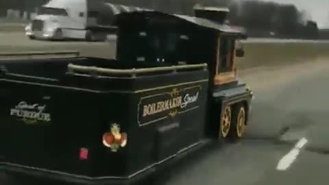 It's a rush or a train