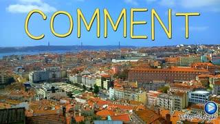 PORTUGAL: Spectacular Landscape City Lisbon Lisbonne Lisboa Europe Top Travel Tour