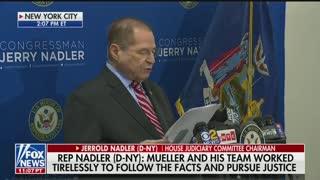 Nadler holds press conference after Mueller statement