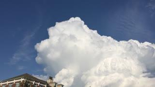 Rotating Clouds But No Tornado