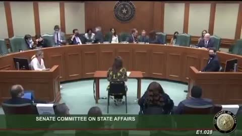 TEXAS: SENATE COMMITTEE ON STATE AFFAIRS - Listen Closely...