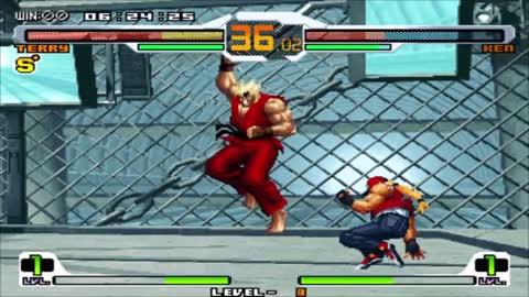 SNK vs Capcom Chaos - Terry - Level 8