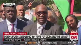 George Floyd's Brother: Not Just Black Lives Matter, All Lives Matter