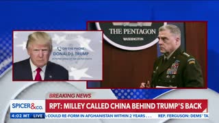 """Trump says """"it's treason, if true"""" on General Milley report"""