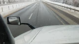 Dashing thru the snow