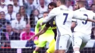 Ronaldo 🆚 Atletico Madrid 💪 #shorts