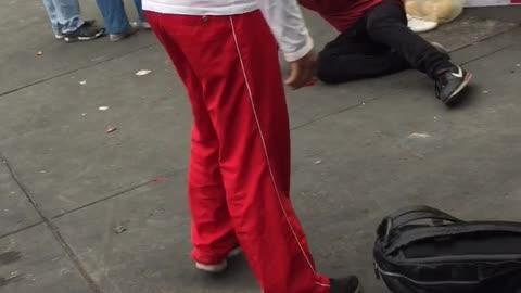 Watch Idiot Get K.O.'ed Over Quesadilla Mishap