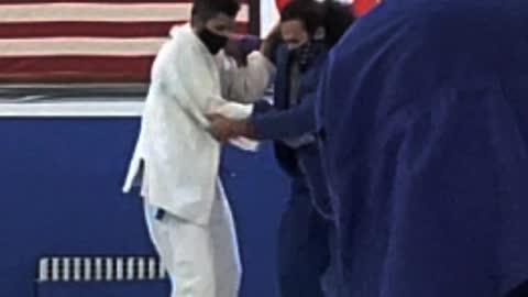 A bit rougher in Judo.