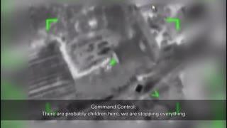 WATCH: IDF Calls Off Strike Because Children Were There