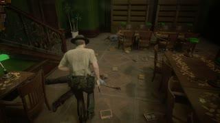 Resident Evil 2 Leon B Pt4 X cameo