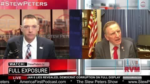 Paul Gosar Talks Jan 6 LIE, Democrat Criminal Actions, Ashli Babbitt Execution, AZ Election Audit