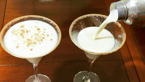 Merry Christmas with Rum Chata Martinis!