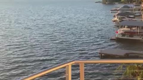 Lake Sammamish, Washington (lake view)