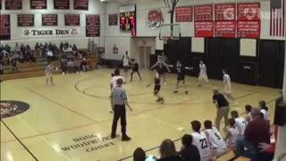 Ray Cuevas Freshman Basketball Highlights