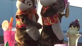Chipmunks With Special Cookies