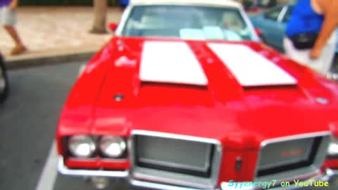 1972 Olds 442 Convertible, Sunny Central Florida Car Show