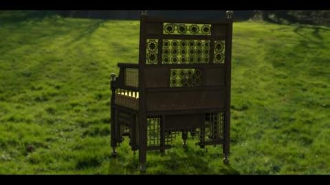 3D design Old Arabic Chair Wood