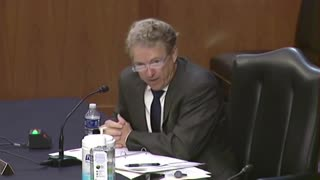 Rand Paul Flays Wasteful Foreign Aid Spending Policies in Senate Hearing