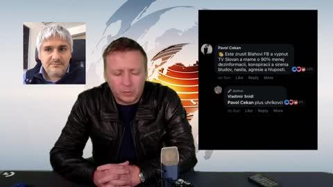 """Vyjadrenie riaditeľa Televízie SLOVAN k Čekanovmu komentáru, koho treba ešte """"vypnúť""""."""