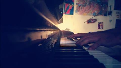 TUTT'AL PIU' di Patty Pravo - mini piano-cover