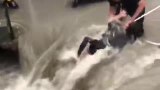 Heavy Floods In China