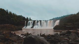 an amazing waterfalls