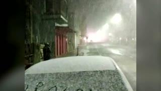 Rare snowfall lashes southern Brazil